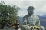 Giant Budha Mediataing on Roof (H)