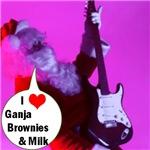 Ganja Brownies & Milk