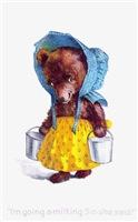 Milkmaid Bear