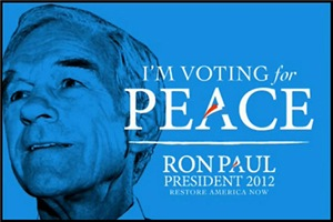 Ron Paul-PEACE Men's Clothing