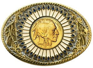 Indian gold oval 1