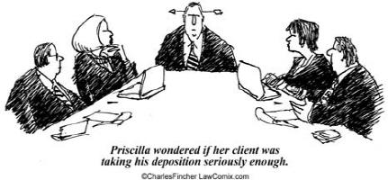 Deposition Humor