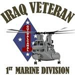1st Marine Iraq - CH46 Helicopter