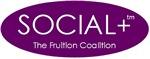 Social+ Purple Oval