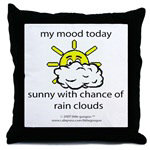 MY MOOD TODAY...SUNNY WITH CHANCE OF RAIN CLOUDS