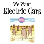 We want electric cars