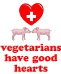 Vegetarians Hearts