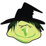 Happy Green Witch