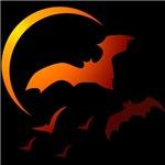 Flying Vampire Bats