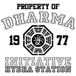 Property of Dharma Initiative - Hydra Station