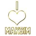 I Heart Maksim (dark)