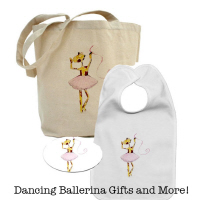 Ballerina Giraffe Gifts and More!