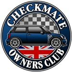 Motoring Checkmate Owner's Club Badge