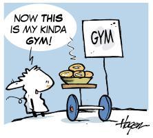 Rory's Gym.