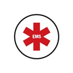 Red EMS Star of Life