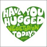 Hug A Vegetarian