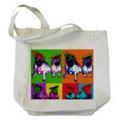 Pug Tote Bags