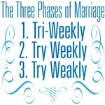 The Three Phases of Marriage