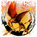 Bird on Fire Mockingjay