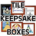 Masonic Keepsake Boxes