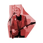 punk guitar player reddish