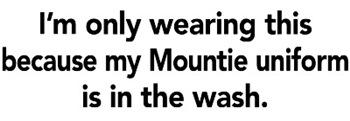 Mountie Uniform