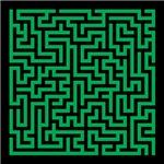 Green Maze Puzzle