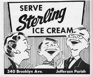 Sterling Ice Cream 1961