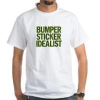 BUMBER STICKER IDEALIST