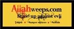 Allah weeps in shame