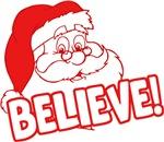 Santa Claus Believe