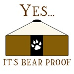 Bear Proof Yurt