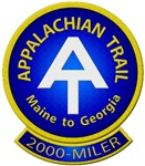 Appalachian Trail Thruhiker or 2000-MILER