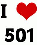 I Love 501