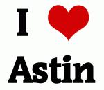 I Love Astin
