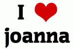 I Love joanna
