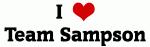 I Love Team Sampson