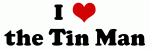 I heart the Tin Man t-shirts and gifts for the Tin Man lovers....
