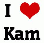 I Love Kam