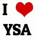 I Love YSA
