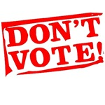 DON'T VOTE (RED)