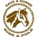 Ride A Pole T-shirts