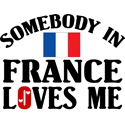 Somebody In France T-shirts
