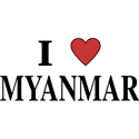 I Love Myanmar Merchandise