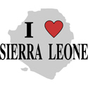I Love Sierra Leone Gifts