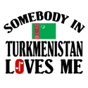 Somebody In Turkmenistan T-shirt