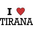 I Love Tirana T-shirts