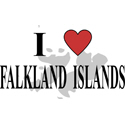 I Love Falkland Islands Gifts