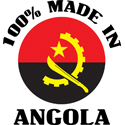 100% Made In Angola T-shirt