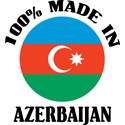 100% Made In Azerbaijan T-shirts